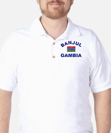 Banjul Gambia designs Golf Shirt