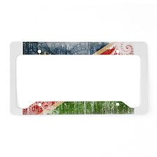 Namibia Flag License Plate Holder