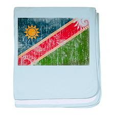 Namibia Flag baby blanket