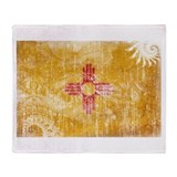 New mexico Fleece Blankets
