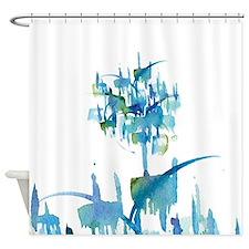 Atom Sea Shower Curtain
