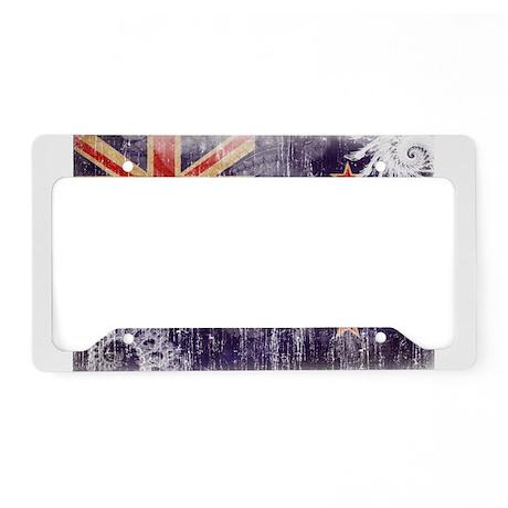 New Zealand Flag License Plate Holder