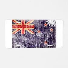 New Zealand Flag Aluminum License Plate