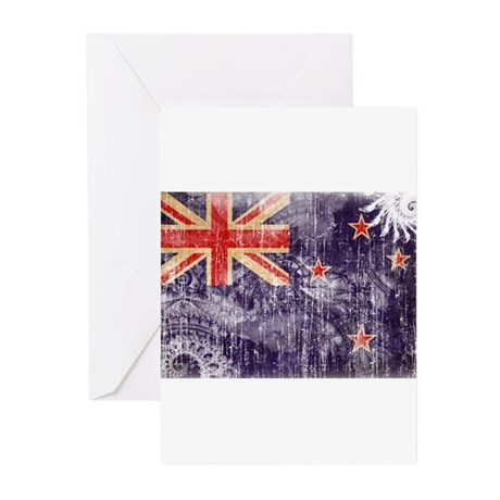 New Zealand Flag Greeting Cards (Pk of 20)