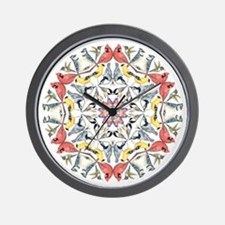 Birds Birds Birds Wall Clock