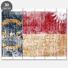 North Carolina Flag Puzzle