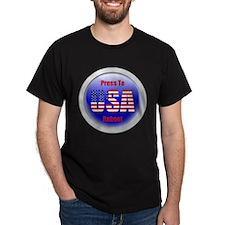 USA - Press To Reboot T-Shirt