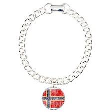 Norway Flag Bracelet