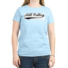 Mill Valley - Vintage Women's Pink T-Shirt