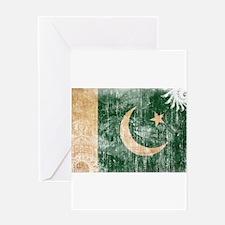 Pakistan Flag Greeting Card