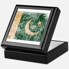 Pakistan Flag Keepsake Box