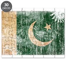 Pakistan Flag Puzzle