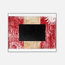 Peru Flag Picture Frame