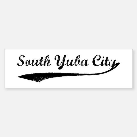 South Yuba City - Vintage Bumper Bumper Bumper Sticker