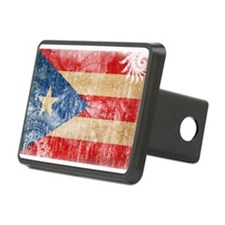 Puerto Rico Flag Hitch Cover