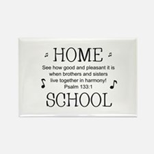 HOMESCHOOL HARMONY Rectangle Magnet
