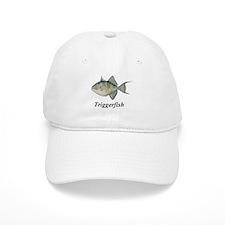 Triggerfish with script Baseball Cap