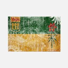 Saskatchewan Flag Rectangle Magnet