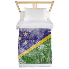 Solomon Islands Flag Twin Duvet