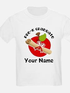 Personalized Pre-K Graduate T-Shirt