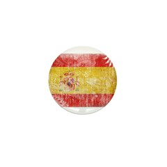 Spain Flag Mini Button (10 pack)