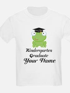 Personalized Kindergarten Graduate T-Shirt