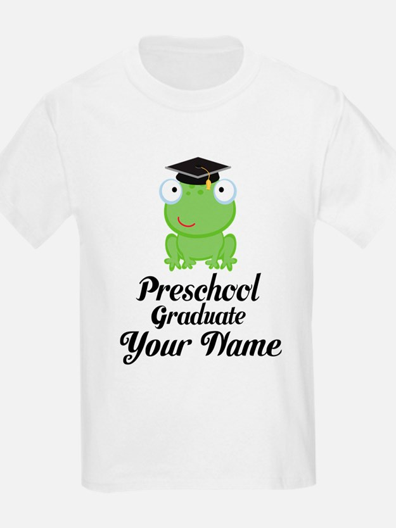 Personalized Preschool Graduate T-Shirt