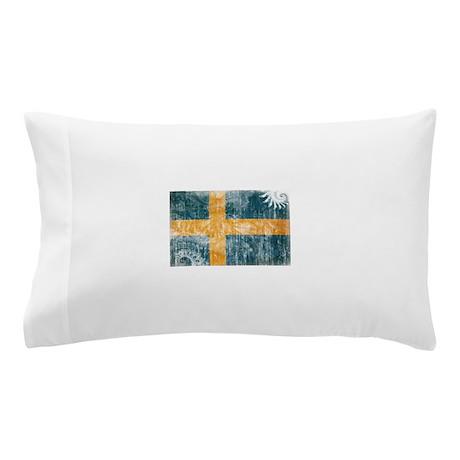 Sweden Flag Pillow Case