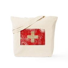 Switzerland Flag Tote Bag