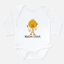 Mallet Chick Long Sleeve Infant Bodysuit