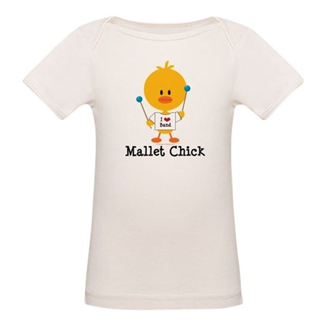 Mallet Chick Organic Baby T-Shirt