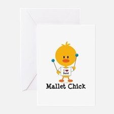 Mallet Chick Greeting Cards (Pk of 10)