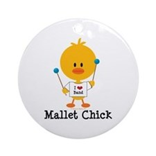 Mallet Chick Ornament (Round)