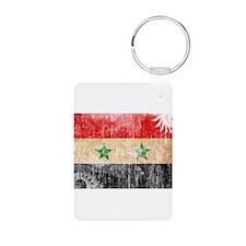 Syria Flag Keychains
