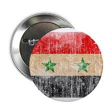 """Syria Flag 2.25"""" Button"""