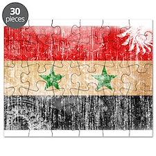 Syria Flag Puzzle