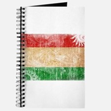 Tajikistan Flag Journal