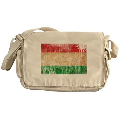 Tajikistan Flag Messenger Bag