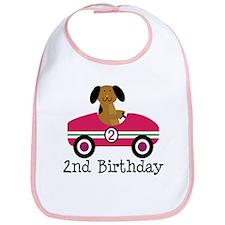 2nd Birthday Air Balloon Bib