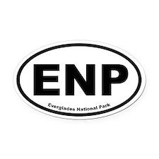 Everglades National Park Oval Car Magnet