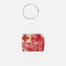 Tonga Flag Keychains
