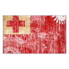 Tonga Flag Decal
