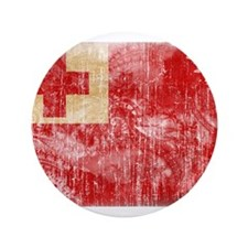 "Tonga Flag 3.5"" Button (100 pack)"