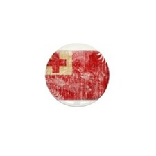 Tonga Flag Mini Button