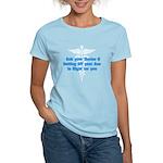 getoffurass.png Women's Light T-Shirt