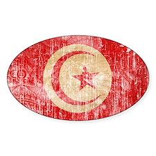 Tunisia Flag Decal