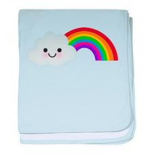 Rainbow - baby blanket