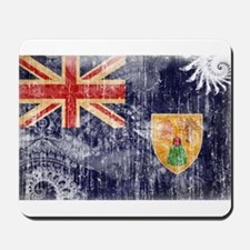Turks and Caicos Flag Mousepad