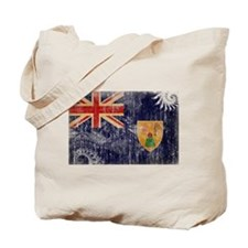 Turks and Caicos Flag Tote Bag