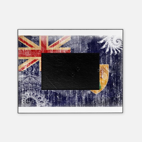 Turks and Caicos Flag Picture Frame
